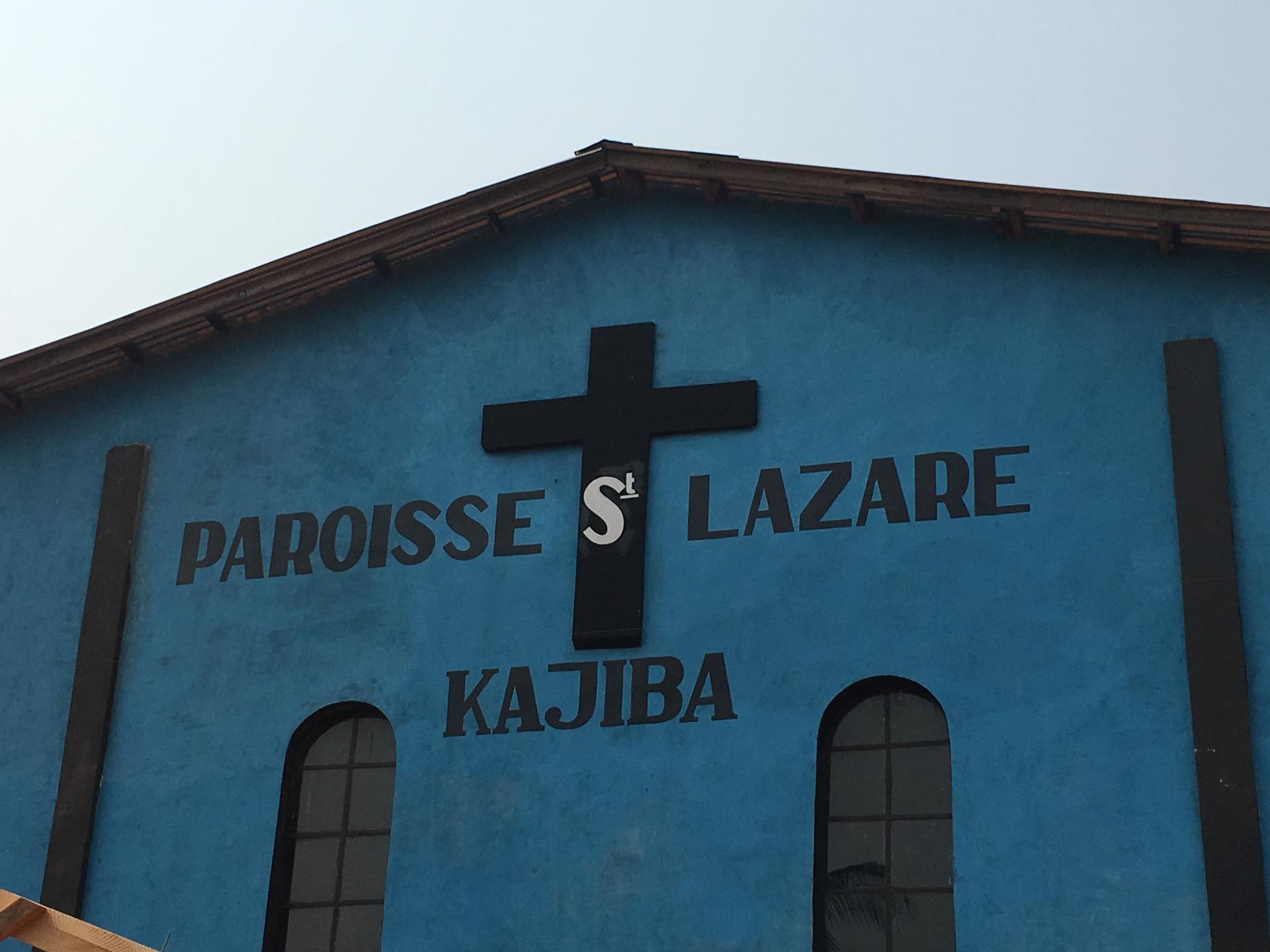 PAROISSE SAINT LAZARE KAJIBA Fondée en 2004