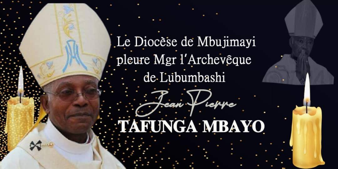 RIP Mgr JEAN PIERRE TAFUNGA